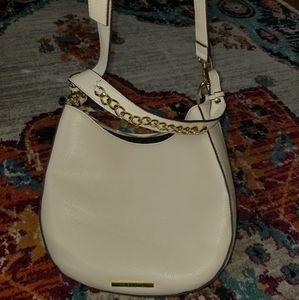 White hobo purse